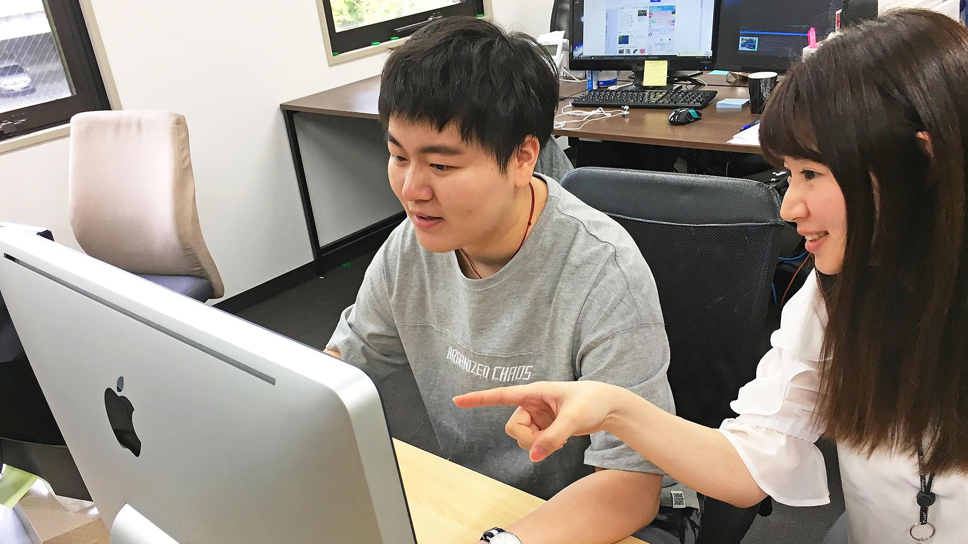 【外国人インターン生リポート 2018・夏】呉夢双さん