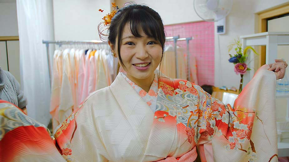 日本の伝統着物で街歩きしよう!大阪・難波で気軽に本格着物体験