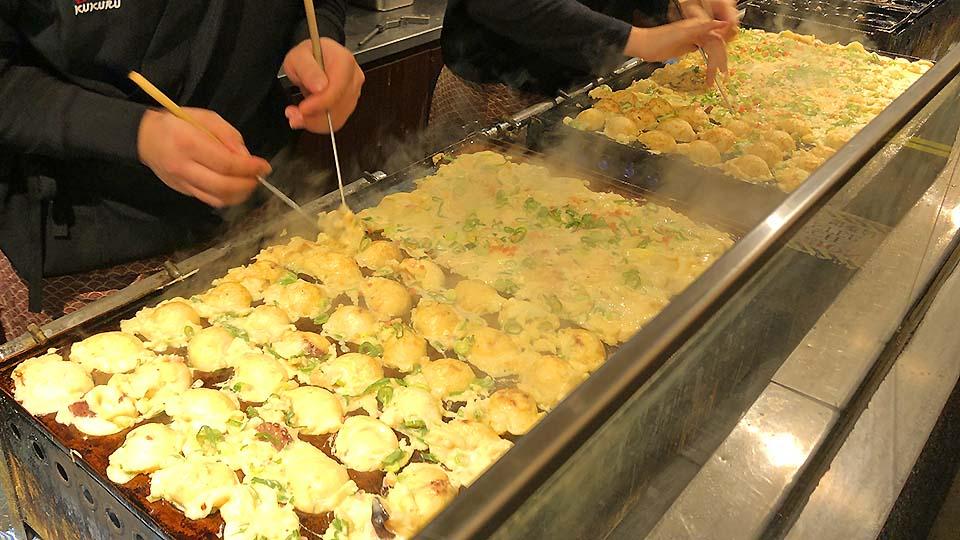 大阪・ミナミのたこ焼きはどこが一番!?食べ比べてみた~勝手にランキング~