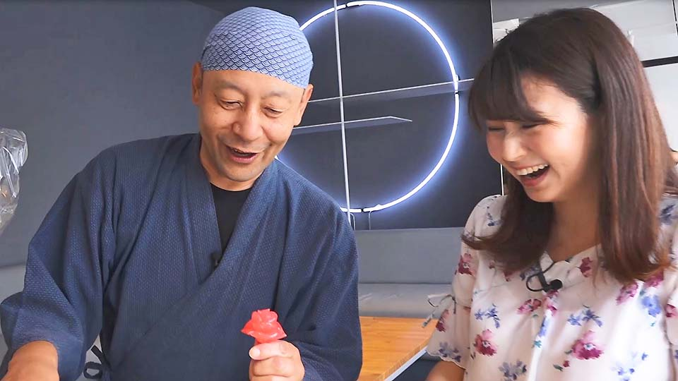 台湾娘が日本の伝統「飴細工」を初体験!